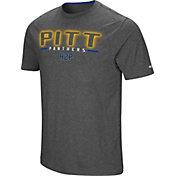 Colosseum Men's Pitt Panthers Grey Bluefin T-Shirt