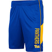 Colosseum Men's Pitt Panthers Blue Grizzly Shorts