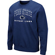 Colosseum Men's Penn State Nittany Lions Blue Comic Book Crew Sweatshirt