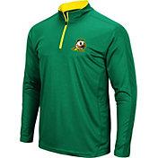 Colosseum Men's Oregon Ducks Green Loggerhead Quarter-Zip Shirt