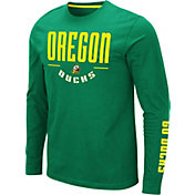 Colosseum Men's Oregon Ducks Green Streetcar Long Sleeve T-Shirt