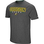 Colosseum Men's Oregon Ducks Grey Bluefin T-Shirt