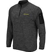 Colosseum Men's Oregon Ducks Grey Quarter-Zip Shirt