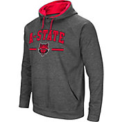 Colosseum Men's Arkansas State Red Wolves Grey Pullover Hoodie