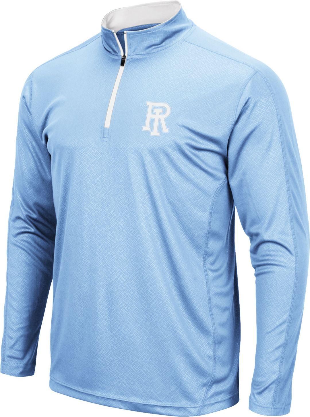 best service 02ad8 a8995 Colosseum Men's Rhode Island Rams Navy Loggerhead Quarter-Zip Shirt