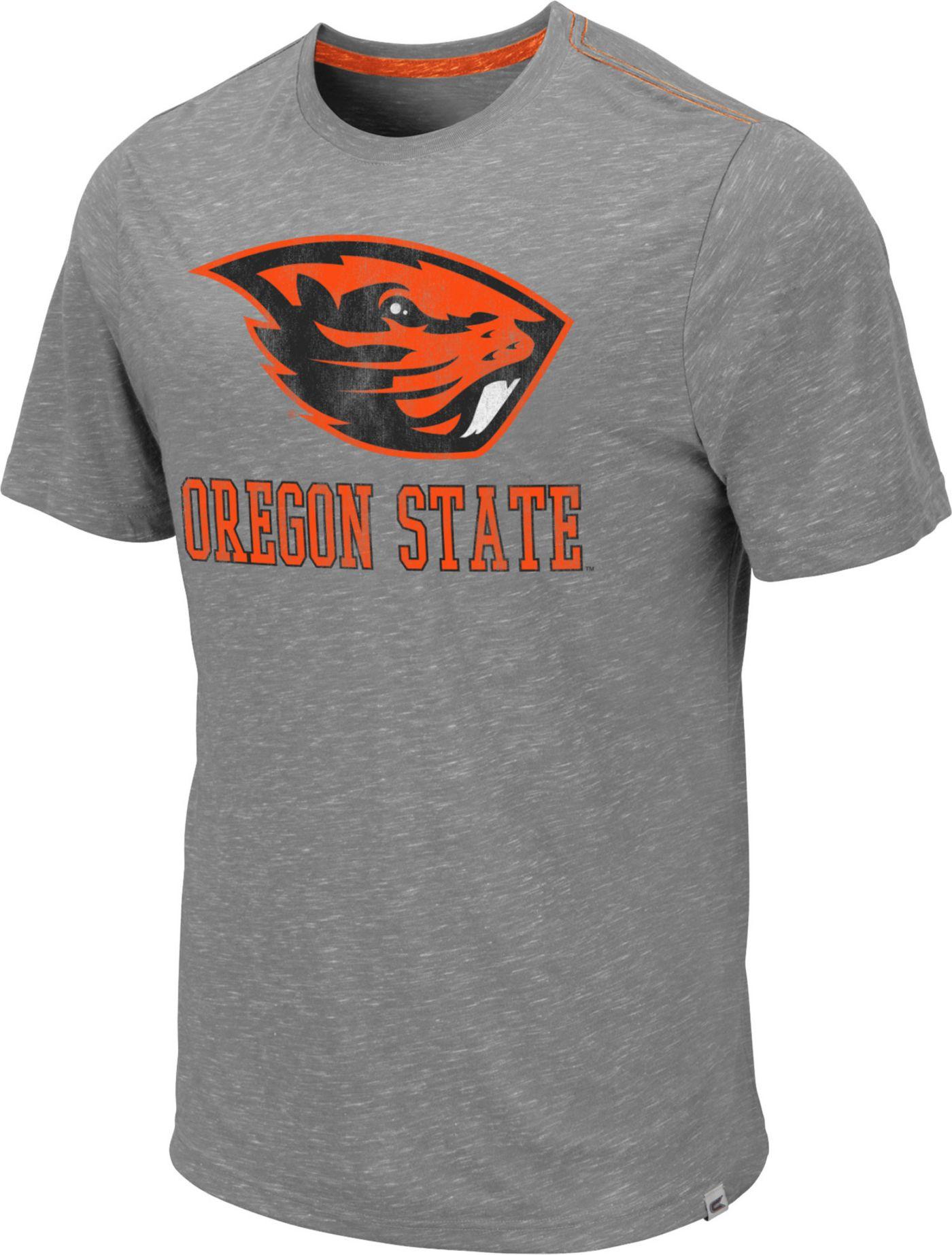 Colosseum Men's Oregon State Beavers Grey Campinas T-Shirt
