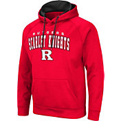 Colosseum Men's Rutgers Scarlet Knights Scarlet Pullover Hoodie