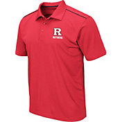 Colosseum Men's Rutgers Scarlet Knights Scarlet Eagle Polo