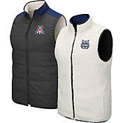 Colosseum Men's Arizona Wildcats Grey Blinky Reversible Full-Zip Vest