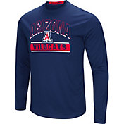 Colosseum Men's Arizona Wildcats Navy Ganges Long Sleeve T-Shirt