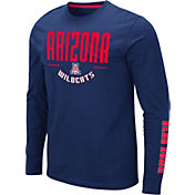 Colosseum Men's Arizona Wildcats Navy Streetcar Long Sleeve T-Shirt