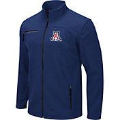 Colosseum Men's Arizona Wildcats Navy Willie Full-Zip Jacket