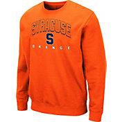 Colosseum Men's Syracuse Orange Orange Comic Book Crew Sweatshirt