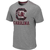 Colosseum Men's South Carolina Gamecocks Grey Campinas T-Shirt