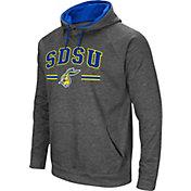 Colosseum Men's South Dakota State Jackrabbits Grey Pullover Hoodie