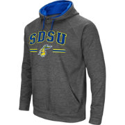 Colosseum Men's South Dakota State Jackrabbits Grey Pullover Hoodie