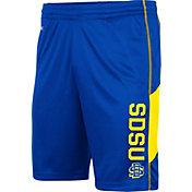 Colosseum Men's South Dakota State Jackrabbits Blue Grizzly Shorts