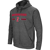 Colosseum Men's San Diego State Aztecs Grey Pullover Hoodie