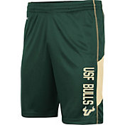Colosseum Men's South Florida Bulls Green Grizzly Shorts
