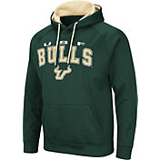 Colosseum Men's South Florida Bulls Green Pullover Hoodie