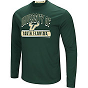 Colosseum Men's South Florida Bulls Green Ganges Long Sleeve T-Shirt