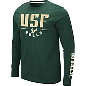 Colosseum Men's South Florida Bulls Green Streetcar Long Sleeve T-Shirt