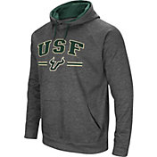 Colosseum Men's South Florida Bulls Grey Pullover Hoodie