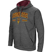Colosseum Men's Arizona State Sun Devils Grey Pullover Hoodie