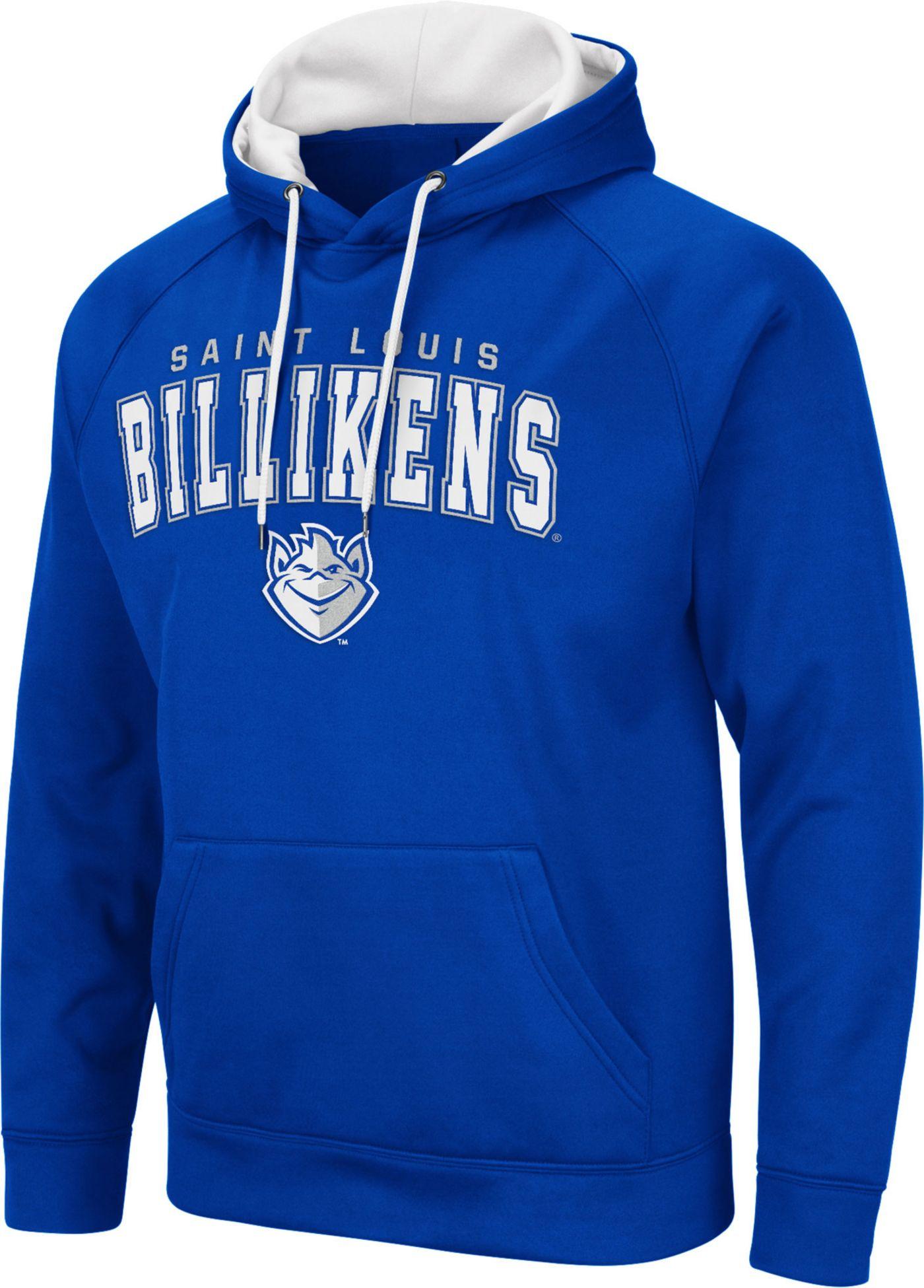 Colosseum Men's Saint Louis Billikens Blue Pullover Hoodie