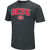 Colosseum Men's St. Cloud State Huskies Dual Blend Black T-Shirt