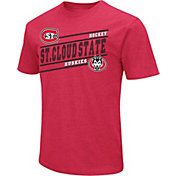 Colosseum Men's St. Cloud State Huskies Cardinal Dual Blend Hockey T-Shirt