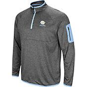 Colosseum Men's Southern University Jaguars Grey Indus River Quarter-Zip Shirt
