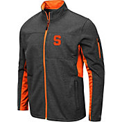 Colosseum Men's Syracuse Orange Grey Bumblebee Man Full-Zip Jacket