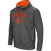 Colosseum Men's Syracuse Orange Grey Pullover Hoodie