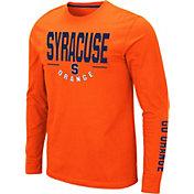 Colosseum Men's Syracuse Orange Orange Streetcar Long Sleeve T-Shirt