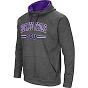 Colosseum Men's TCU Horned Frogs Grey Pullover Hoodie