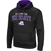 Colosseum Men's TCU Horned Frogs Pullover Black Hoodie