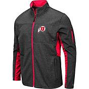 Colosseum Men's Utah Utes Grey Bumblebee Man Full-Zip Jacket