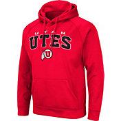 Colosseum Men's Utah Utes Crimson Pullover Hoodie