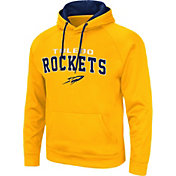 Colosseum Men's Toledo Rockets Gold Pullover Hoodie