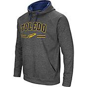 Colosseum Men's Toledo Rockets Grey Pullover Hoodie