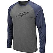 Colosseum Men's Toledo Rockets Grey Rad Tad Raglan Long Sleeve T-Shirt