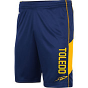 Colosseum Men's Toledo Rockets Midnight Blue Grizzly Shorts