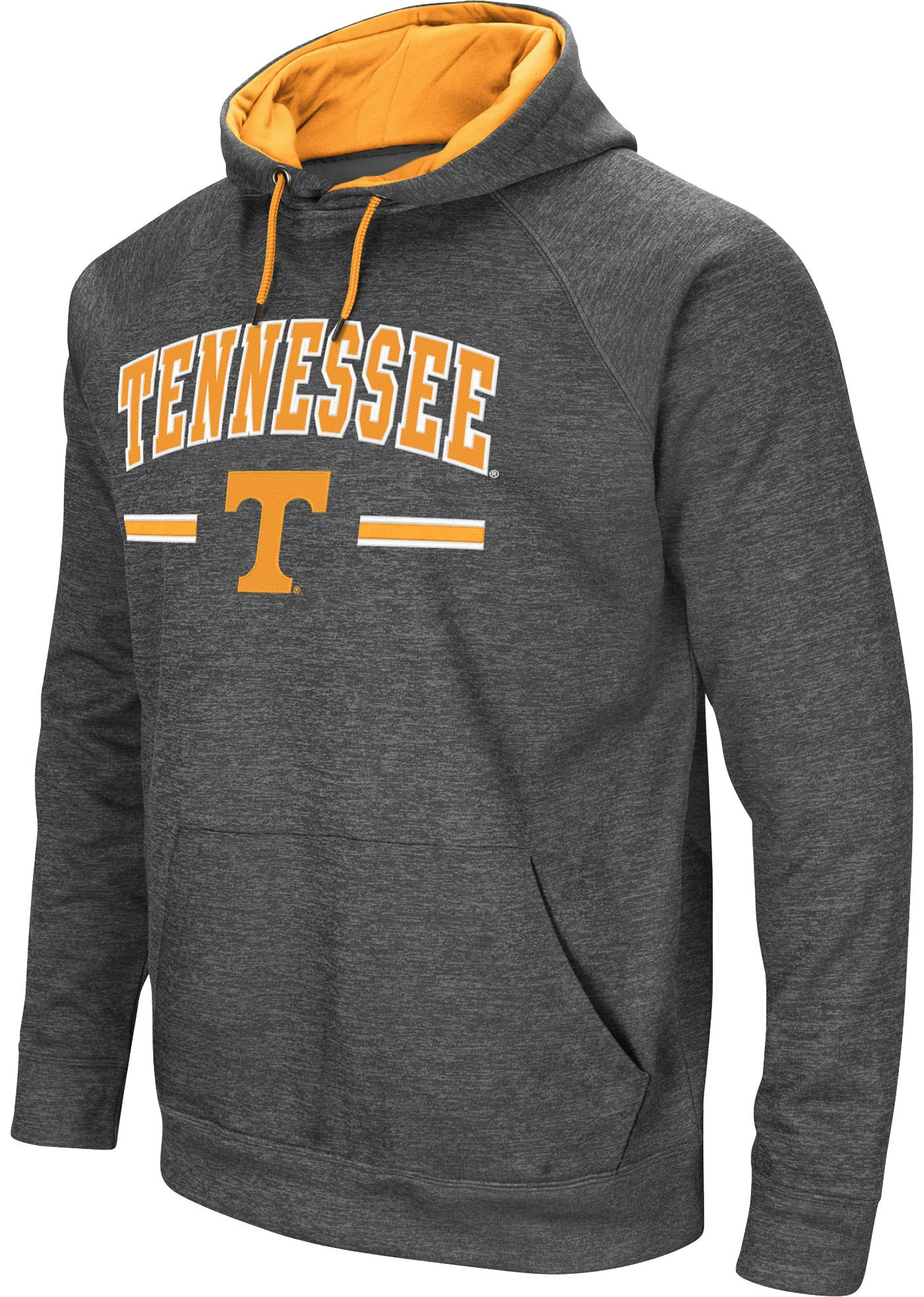 Colosseum Men's Tennessee Volunteers Grey Pullover Hoodie