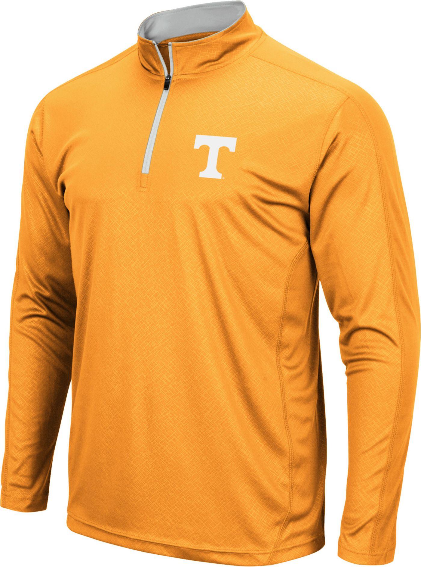 Colosseum Men's Tennessee Volunteers Tennessee Orange Loggerhead Quarter-Zip Shirt