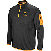 Colosseum Men's Tennessee Volunteers Indus River Quarter-Zip Black Shirt