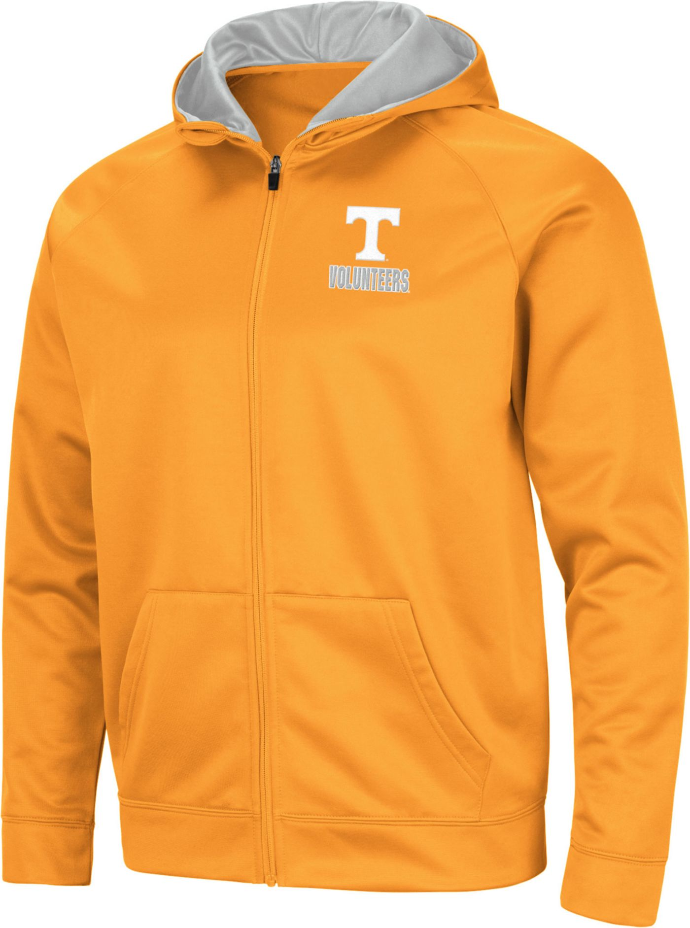 Colosseum Men's Tennessee Volunteers Tennessee Orange Full-Zip Hoodie