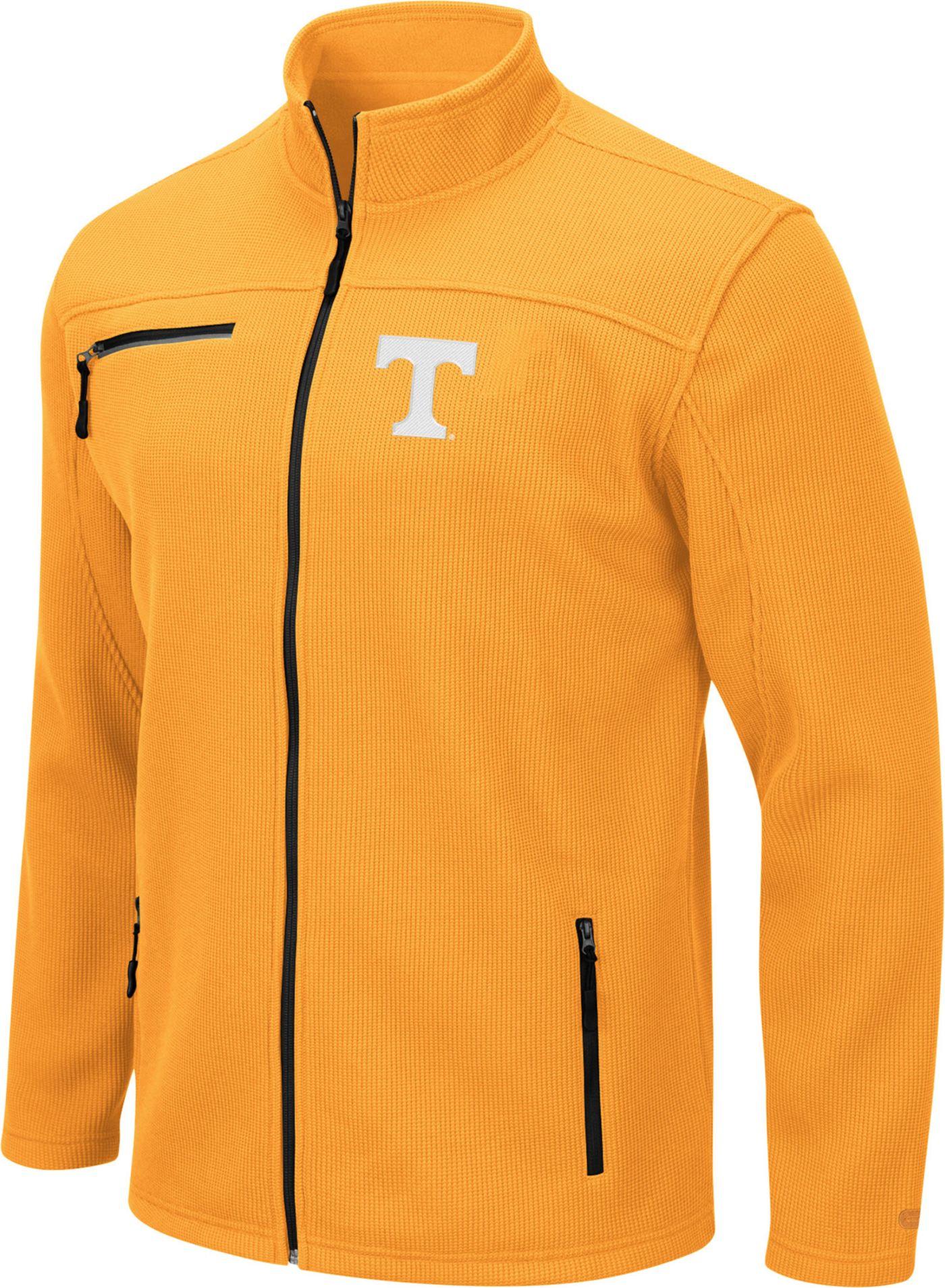 Colosseum Men's Tennessee Volunteers Tennessee Orange Willie Full-Zip Jacket