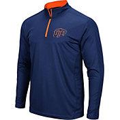 Colosseum Men's UTEP Miners Navy Loggerhead Quarter-Zip Shirt