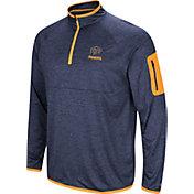 Colosseum Men's UTEP Miners Navy Indus River Quarter-Zip Shirt